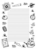 Teacher-Cllipart-Borders-Seasons-Columbus-Day-portrait-college-rule