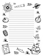 Teacher-Cllipart-Borders-Seasons-Columbus-Day-portrait-wide-rule