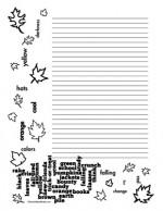 Teacher-Cllipart-Borders-Seasons-Fall-Wordle-portrait-college-rule