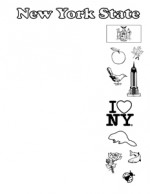 New York State Symbols- Portrait- Blank