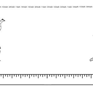 Ruler-Measurement--Landscape--Blank