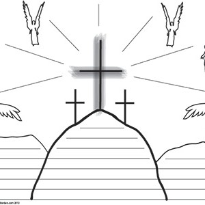 Easter-Crucifixion--Wide
