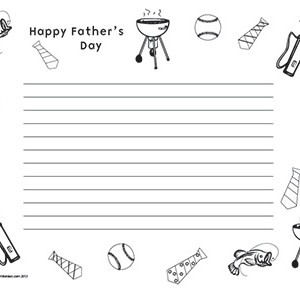 Father's-Day--Landscape--Wide-Rule
