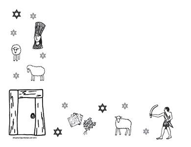Passover--Landscape--Blank