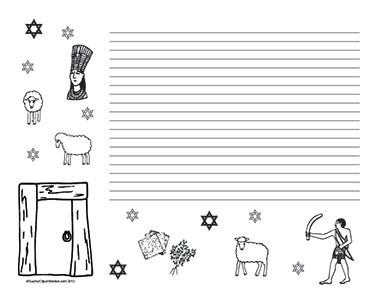Passover--Landscape--College-Rule