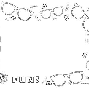 Summer-Sunglasses-Fun-!-Landcape--Blank