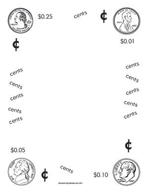 Coin-Money--Portrait--Blank