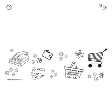 Money-&-Shopping--Landscape--Blank