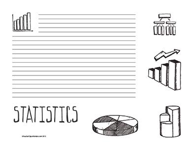 Statistics--landscape--College-Rule