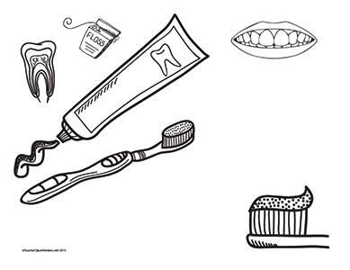 Teeth-Health--Landscape--Blank