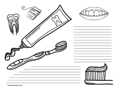 Teeth-Health--Landscape--College-Rule