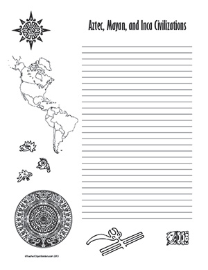 Aztec,-Mayan,-and-Inca-Civilizations--Portrait--College-Rule