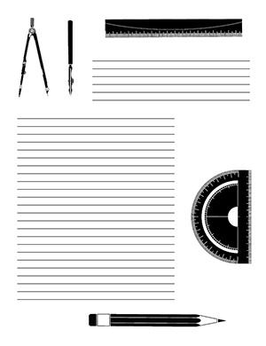 Trigonometry--Portrait--College-Rule