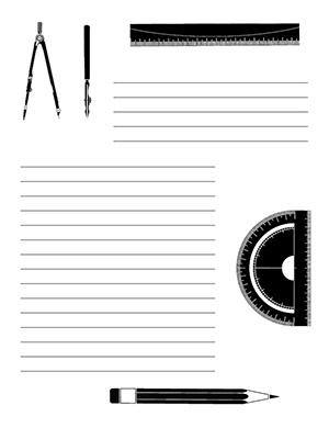 Trigonometry--Portrait--Wide-Rule