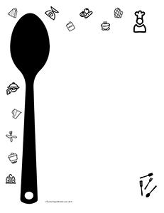Restaurant-Cooking--Portrait--Blank