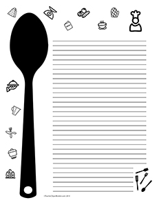 Restaurant-Cooking--Portrait--College-Rule