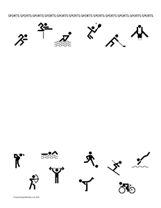 Sports!--Portrait--Blank