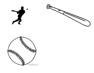 Baseball--Landscape--Blank