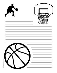 Basketball--Portrait--College-Rule