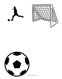 Soccer--Portrait--Blank