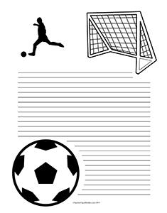 Soccer--Portrait--College-Rule