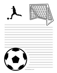 Soccer--Portrait--Wide-Rule