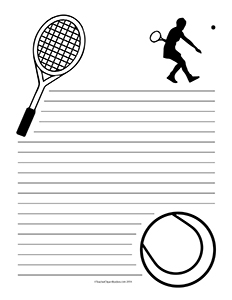 Tennis--Portrait--Wide-Rule
