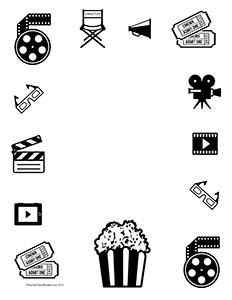 Movie-Action--Portrait--Blank