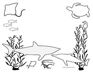 Seascape-Ocean--Landscape--Blank