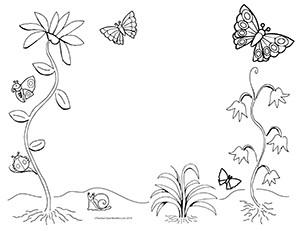 Summer-Garden--Landscape--Blank