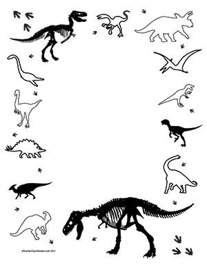 So-Many-Dinosaurs!--Portrait--Blank