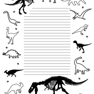 So-Many-Dinosaurs!--Portrait--College-Rule