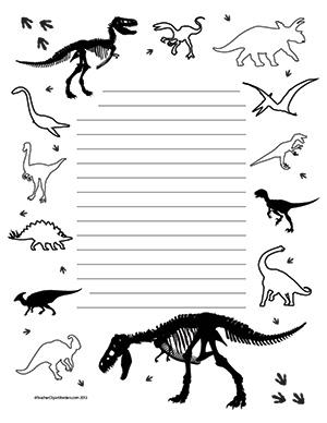 So-Many-Dinosaurs!--Portrait--Wide-Rule