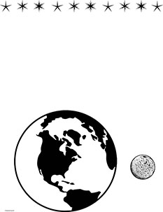 Earth & Moon