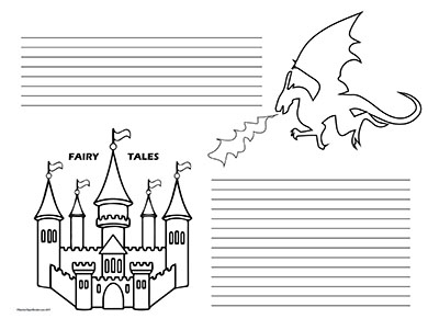 Fairy Tale Castle & Dragons