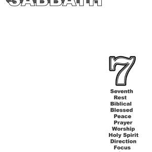 Keep The Sabbath Blank