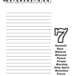 Keep The Sabbath Wide